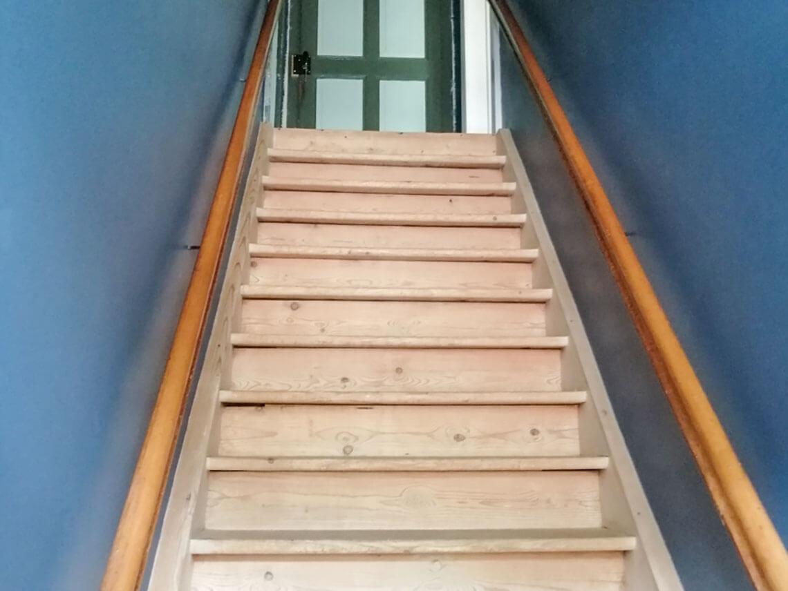 Escalier apès